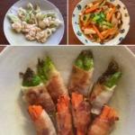 子持ち高菜の料理の写真