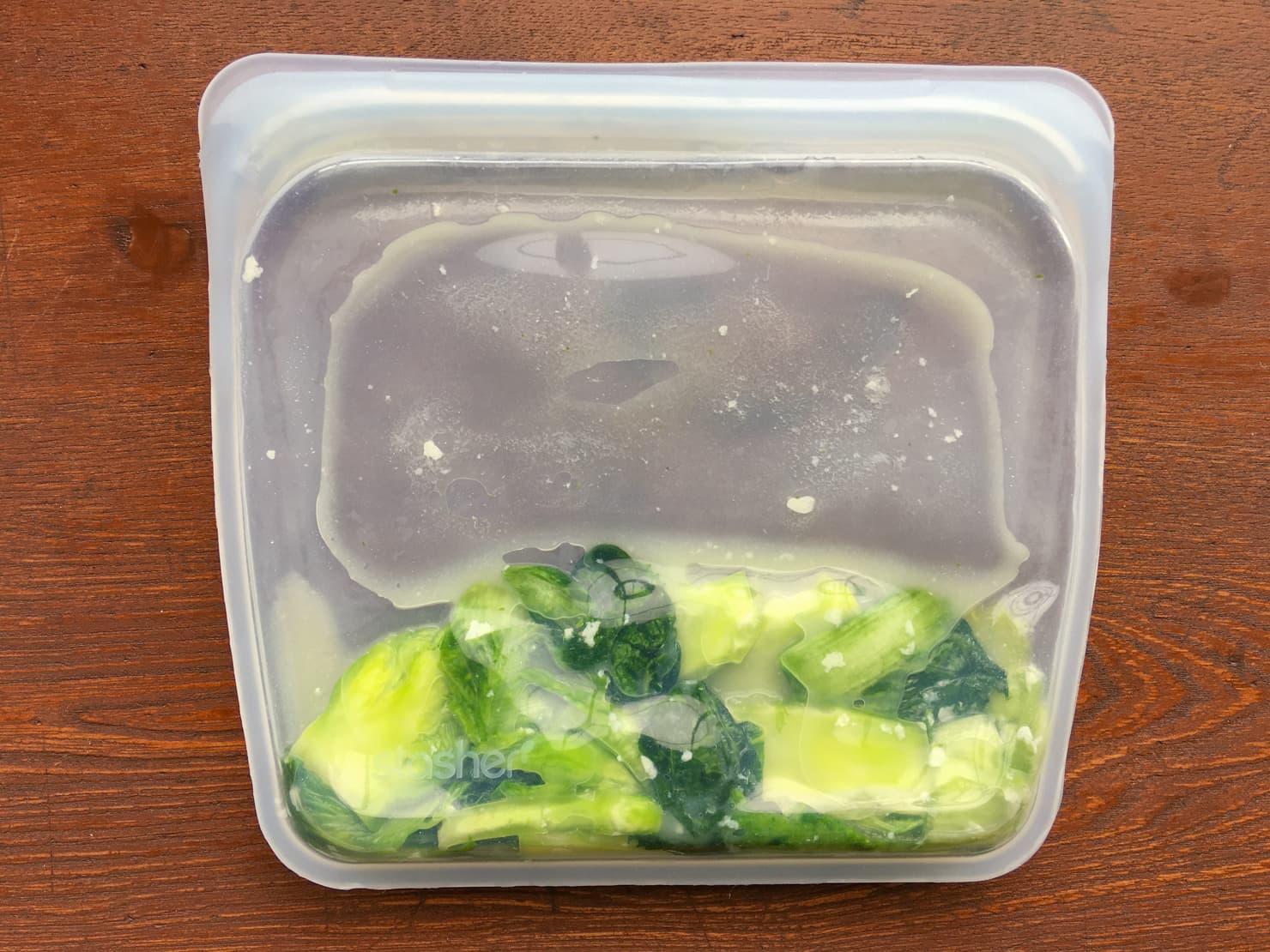 子持ち高菜の漬物の写真