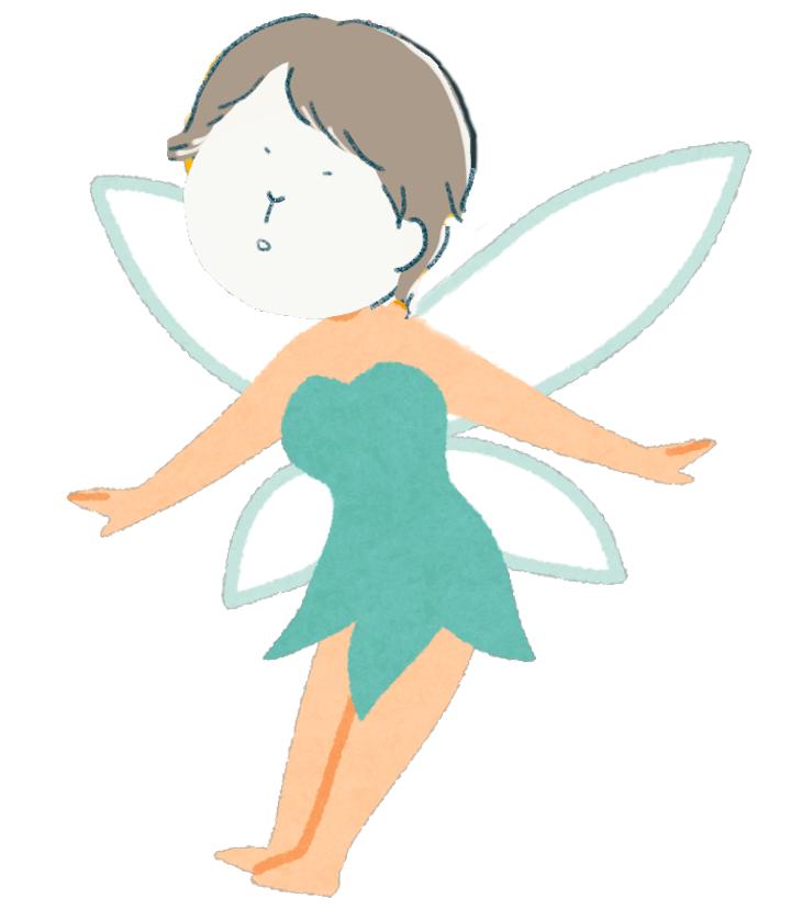 野菜の妖精のイラスト