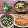 かつお菜とかつお菜の料理の写真