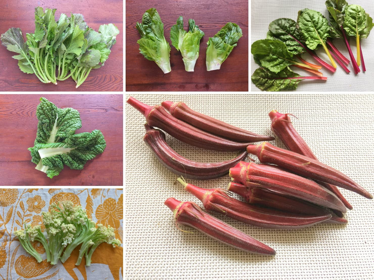 珍しい野菜の写真