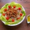 揚げコールラビの香ばしサラダの写真