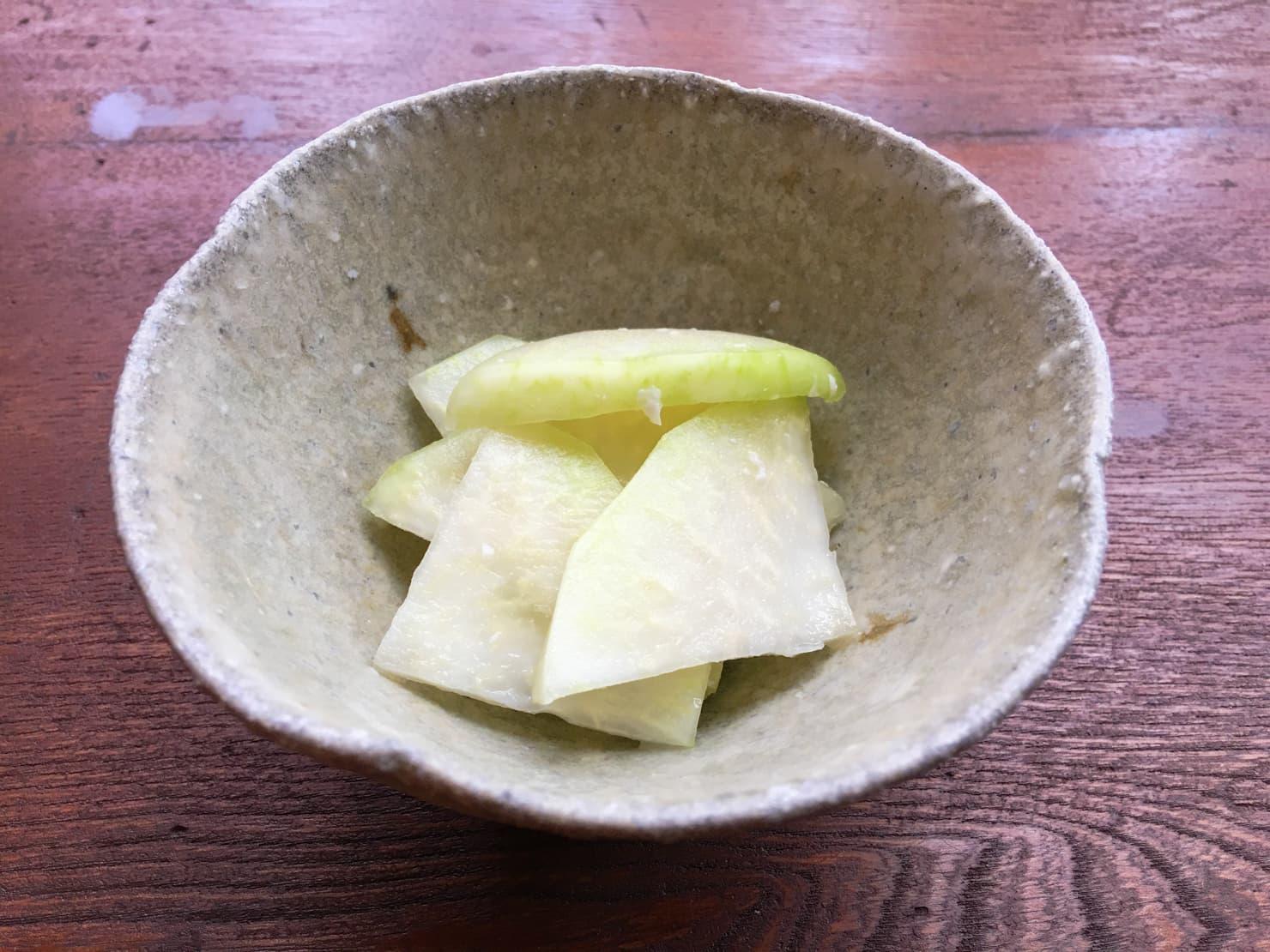 コールラビの塩麹漬けの写真