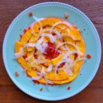 コリンキーのサラダの写真