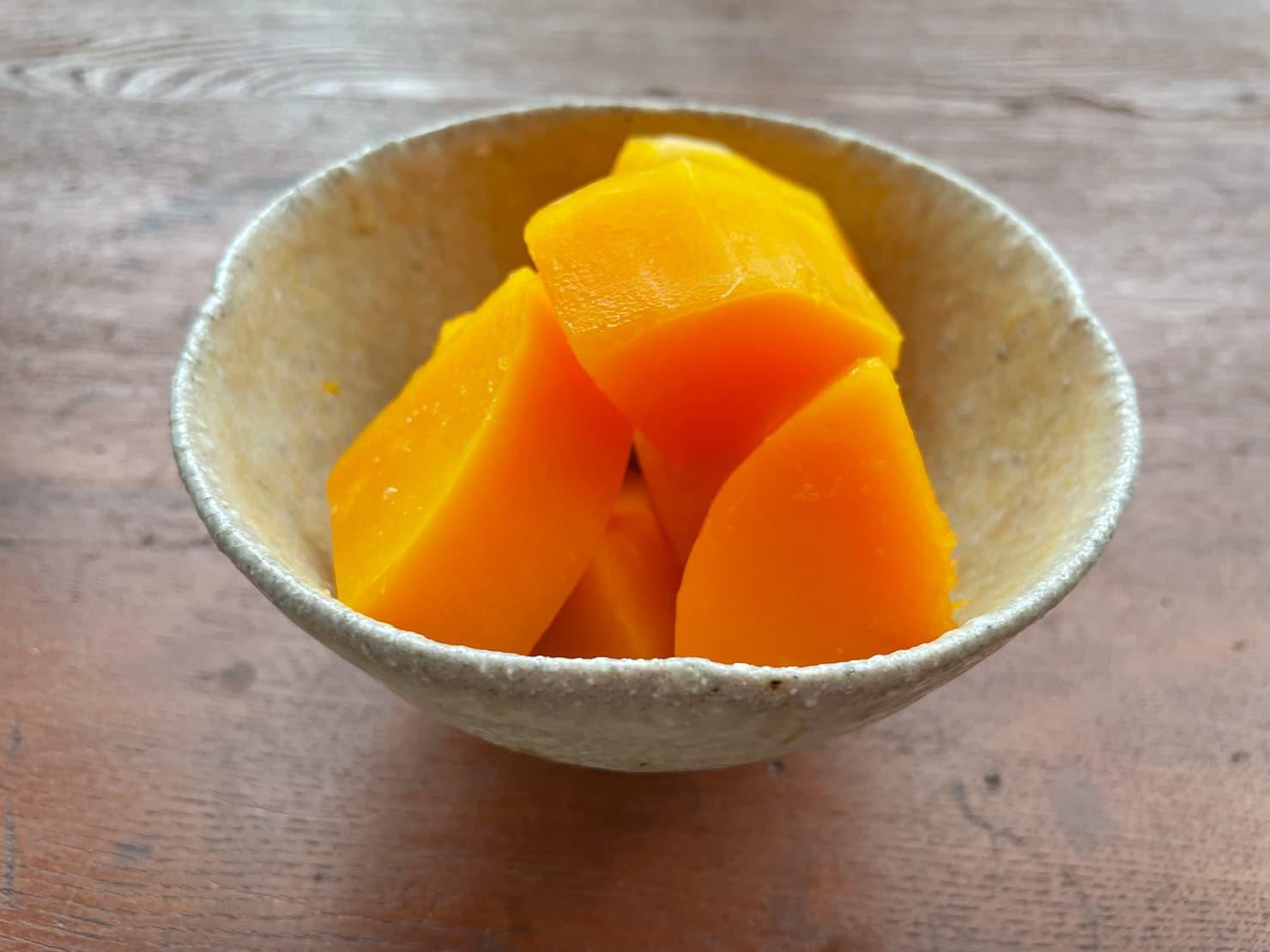 バターナッツかぼちゃのはちみつレモン煮の写真