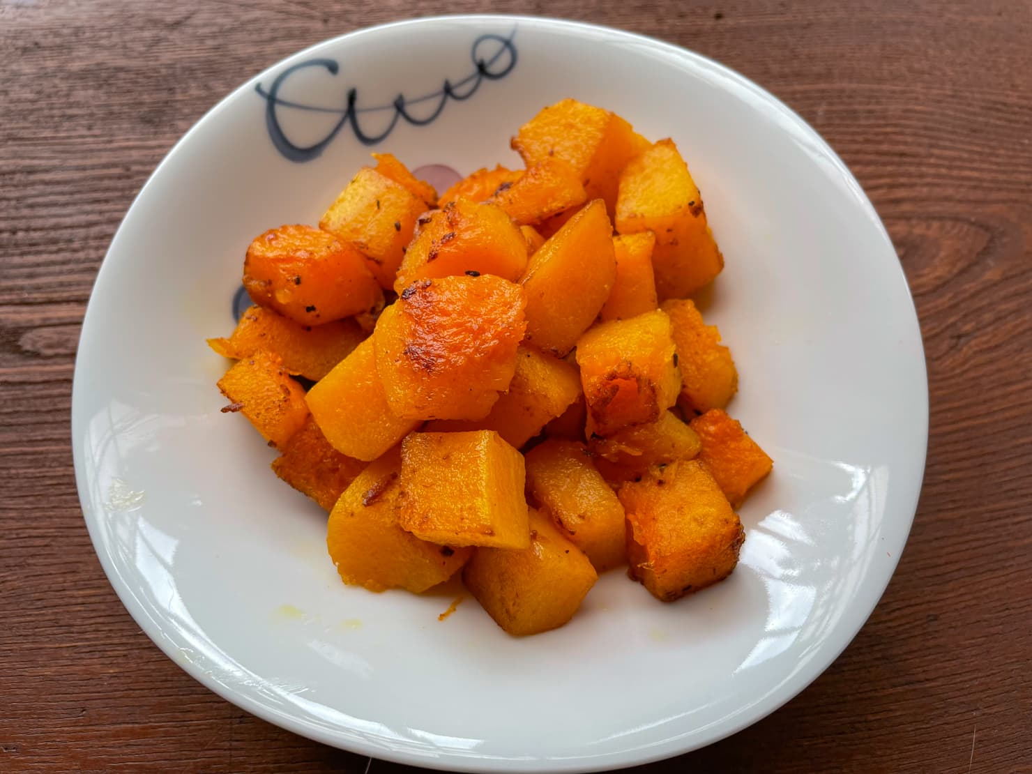 バターナッツかぼちゃのシンプルソテーの写真