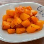 バターナッツかぼちゃのソテーの写真