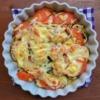 ズッキーニとトマトのチーズ焼きの写真