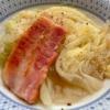 キャベツとベーコンのスープ煮の写真